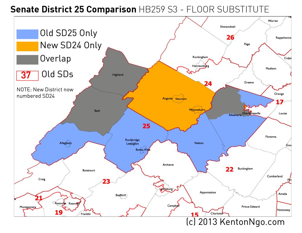 Maps Of Mid Decade Virginia Senate Redistricting Update 4x